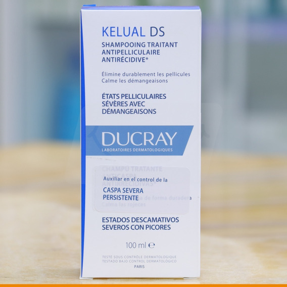Shampoo Para Control De Caspa Severa Ducray Kelual Ds 100 Ml