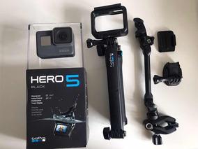 Gopro Hero5 Black + Acessórios Originais + Micro Sd 64gb