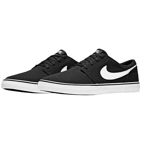 Tenis Nike Deportivo Sb Dama Textil Negro Blanco 35788 Dtt