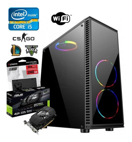 Pc Game Core I5 4570 + 16gb + Ssd 240gb + Gtx 1050ti 4gb