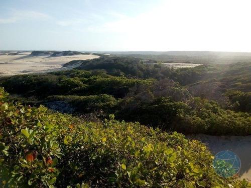 Imagem 1 de 15 de Excelente Terreno Na Praia De Barreta (nizia Floresta) - V-11363