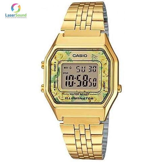 Relógio Casio Vintage Feminino La680wga-9cdf C/garantia E Nf