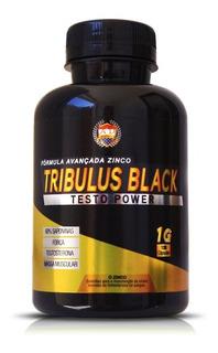Tribulus Black 1000mg 120cápsulas - Força E Massa Muscular