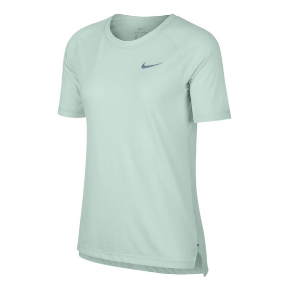 Remera Nike Tailwind Azul Mujer