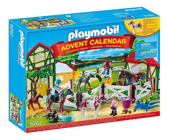 Playmobil 9262 Country Granja De Caballos Original Intek