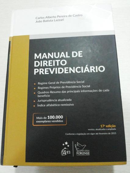 Manual De Direito Previdenciário 17ª Ed. 2015 Concurso