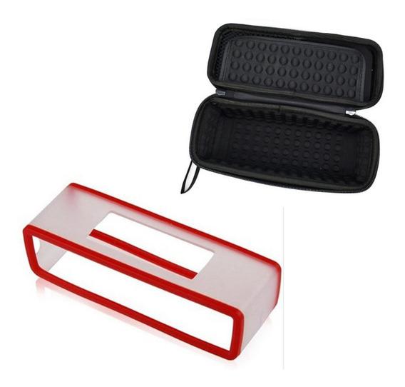 Vermelho Para Bose Mini Speaker Especial Capa Protetora Blac