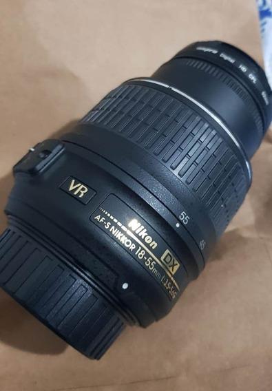 Lente Nikkor 18-55mm 3.5-5.6 Vr