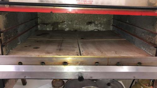 Imagem 1 de 4 de Forno Industrial De Pizza E Pão