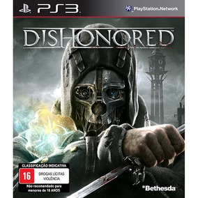 Game Dishonored Ps3 C/ Dlc Exclusivo