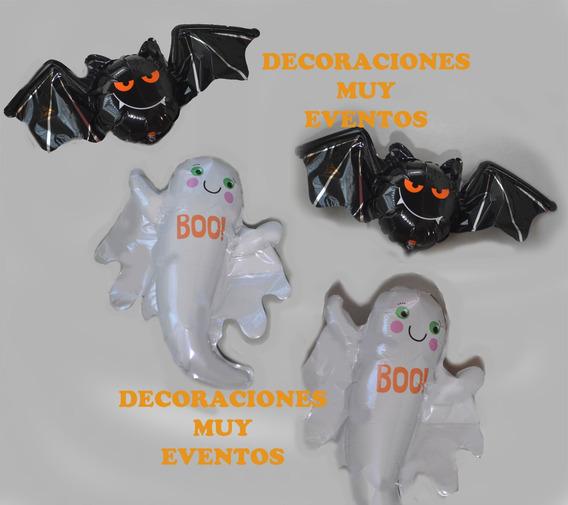 Combo De Globo Fantasma Y Murciélago Total :2 Unidades