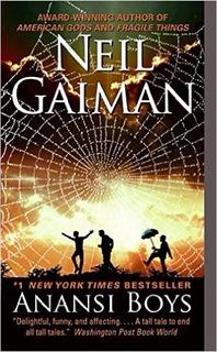 Livro Anansi Boys De Neil Gaiman Em Inglês(filhos De Anansi)