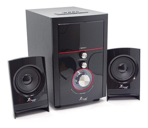 Micro System Caixa De Som Fm Sd Rca P2 14w 2.1 Bluetooth
