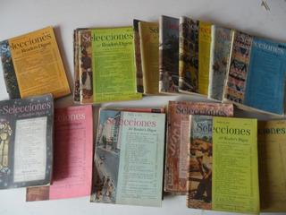Lote 18 Revistas Selecciones Antigua 1950 1949 Reader Digest
