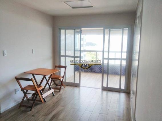 Apartamento Com 2 Dormitórios À Venda, 76 M² Por R$ 540.000,00 - Itararé - São Vicente/sp - Ap1770