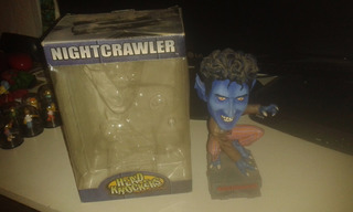 Marvel Xmen Nightcrawler Headknockers Neca 2002 Nocturno