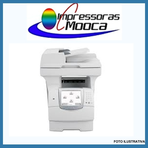 Imagem 1 de 5 de Impressora Multifuncional Laser Lexmark X644 - 200 Unidades