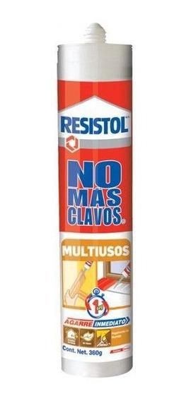 Pegamento Resistol Cartucho 360g No Mas Clavos Resistol