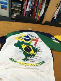 Camisetas De Fútbol Brasil!! Lote Completo Únicamente