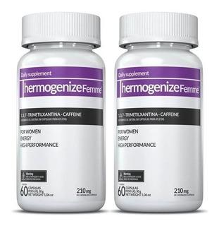 2 Termogenico Thermogenize Femme - 60+60 Cápsulas