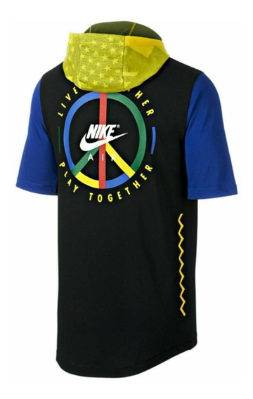 Nike Live Play Wildcard Playera Multicolor Ar0230 Med