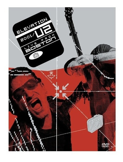 U2 Elevation 2001: Live From Boston Dvd Duplo