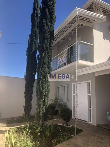 Casa Com 3 Dormitórios À Venda, 170 M² Por R$ 731.400,00 - Parque Via Norte - Campinas/sp - Ca2258