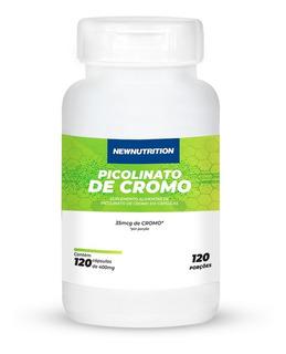 Picolinato De Cromo 120 Softgels Newnutrition