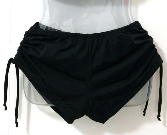 Calcinha Hot Pants + Shorts Sunquini Preto