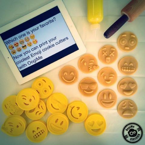 Cortador De Biscoito Biscuí Massa Emoticons Emoji