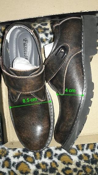 Zapatos De Cuero Para Hombre En Las Fotos Están Las Medidas