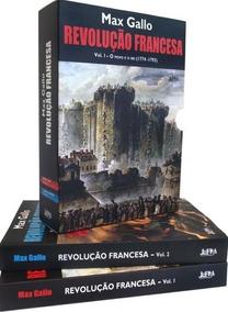 Caixa Especial Revolução Francesa Max Gallo Dois Volumes Lpm