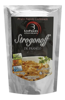Comida Refeição Liofilizada Sabor Strogonoff De Frango 100g