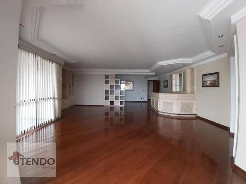 Imagem 1 de 18 de Imob01 - Apartamento 204 M² - Venda - 4 Dormitórios - 3 Suítes - Barcelona - São Caetano Do Sul/sp - Ap1387