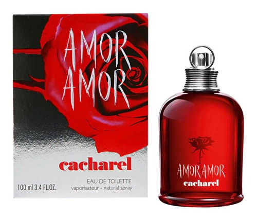 Amor Amor Cacharel Eau De Toilette 100 Ml Dkn Perfumeria Spa