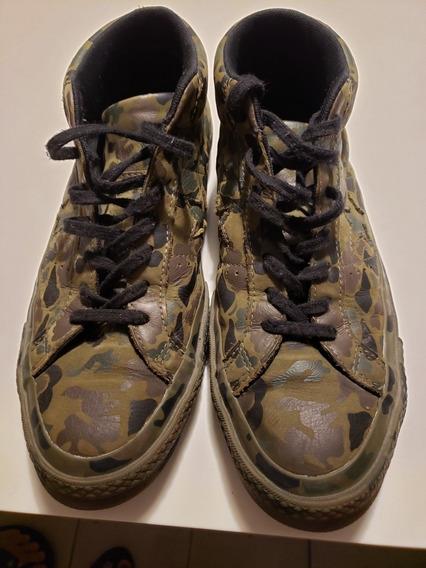 Zapatillas S/b Converse Original Usa Diseño Exclusivo Cuero