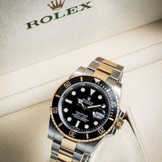 Relógio Rolex Automático Submariner 44 Mm (á Bateria)