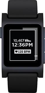 Reloj Inteligente Con Ritmo Cardiaco Pebble 2 - Negro / Negr