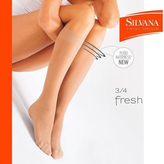 Medias Silvana 3/4 Ice Fresh Sin Puntera