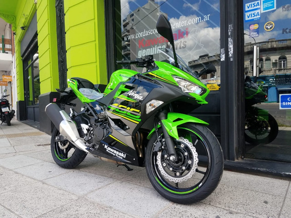 Kawasaki Ninja 400 Okm Abs Entrega Inmediata Cordasco