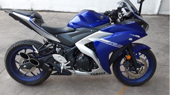 Yamaha R3 Yzfr3 Azul
