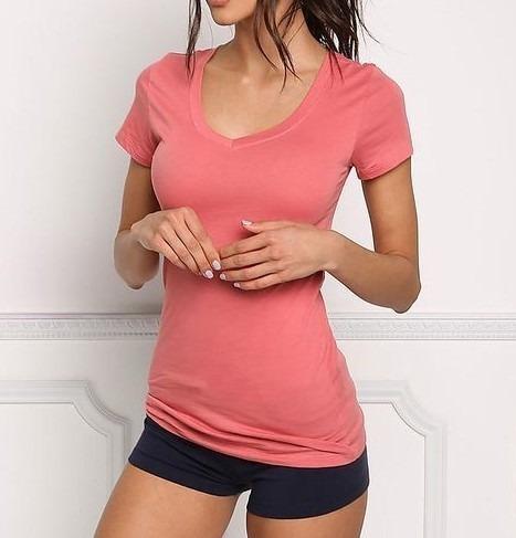 Camiseta Feminina Sport Para Academia Várias Cores