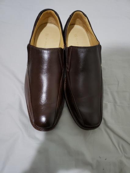 Sapato Masculino Social Cor Marron Da Di Pollini, Está Novo