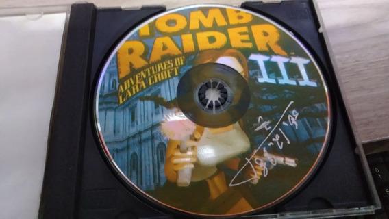 Tomb Raider 3 Playstation 1 Prensado