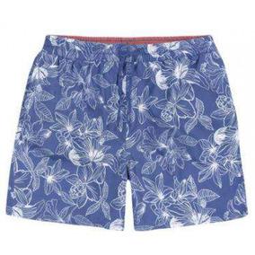 Shorts Masculino Hering Ktl42 - Azul - Delabela Calçados