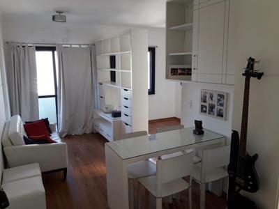 Apartamento Em Moema, São Paulo/sp De 32m² 1 Quartos À Venda Por R$ 399.000,00 - Ap226966