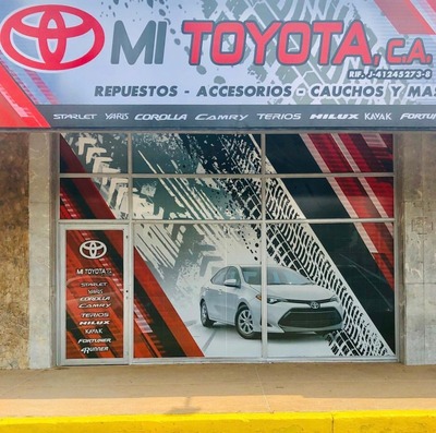 Toyota Yaris Corolla Camry Terios Hilux Fortuner 4runner