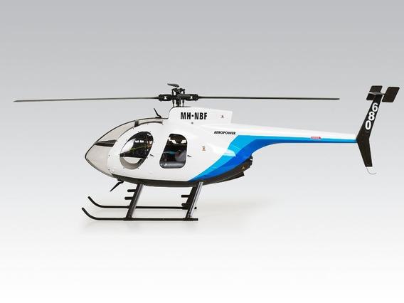 Helicoptero Hughes Md 500 - Raptor 50 C/ Motor E Servos