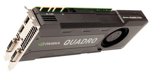 Nvidia Quadro K5000 4gb Gddr5 Pcie Dual Dp Dvi