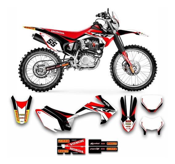 Adesivo Motocross Honda Crf 230 2015/2019 Sport 0,20mm 120